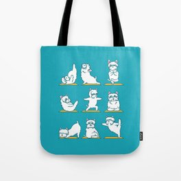 West Highland Terrier Yoga Tote Bag