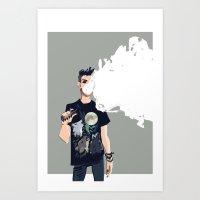 vape bro Art Print