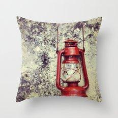 Lamp Throw Pillow