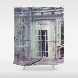 Restoration Behind Glass Shower Curtain