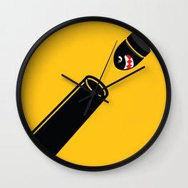 Bullet Bill Wall Clock