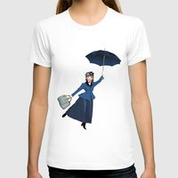 mary poppins T-shirts featuring Mary Poppins by Vannina