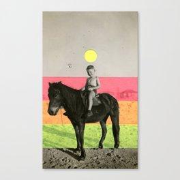 Neon Trip Canvas Print
