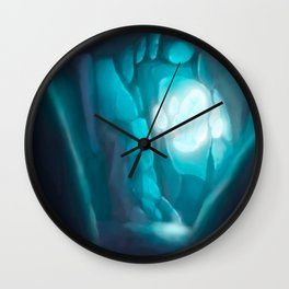 Secret Crystal Wall Clock
