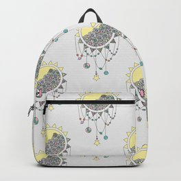 Cheer Up - Sun Illustration Backpack