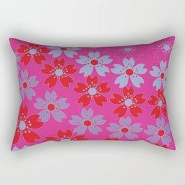 Lovely flowers Rectangular Pillow