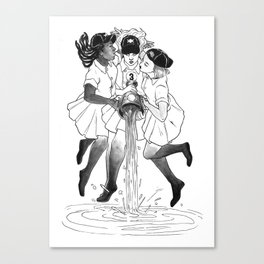 3 OF CUPS Canvas Print