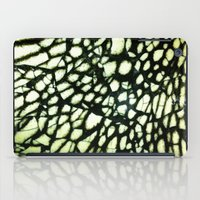 cracked iPad Cases featuring cracked by ☄weasey