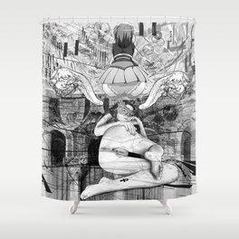 The constellation erotique 3607 Shower Curtain