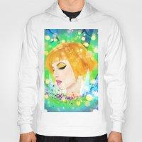 hayley williams Hoodies featuring Digital Painting - Hayley Williams by EmmaNixon92