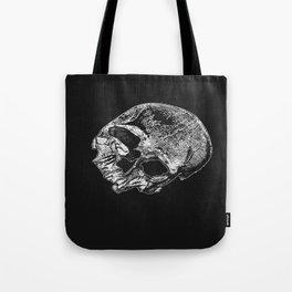 Human Skull Vintage Illustration  Tote Bag