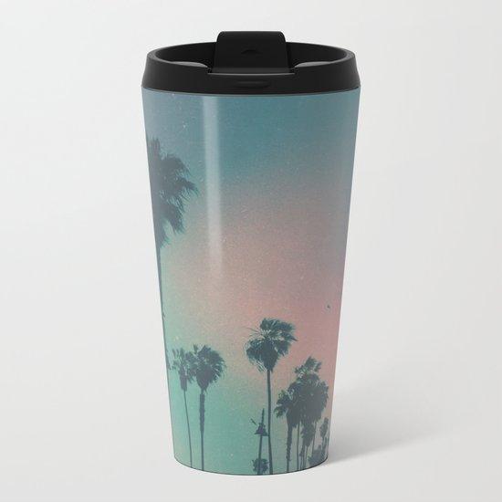 Venice Beach, CA. Metal Travel Mug