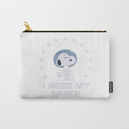 snoopy astrounut Carry-All Pouch