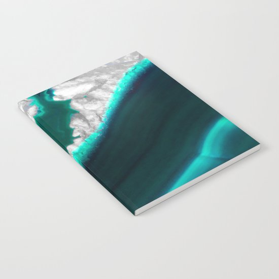 Fluo Agate Notebook