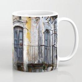 Urban Sicilian Facade Coffee Mug