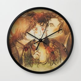 These Kissy Things Wall Clock