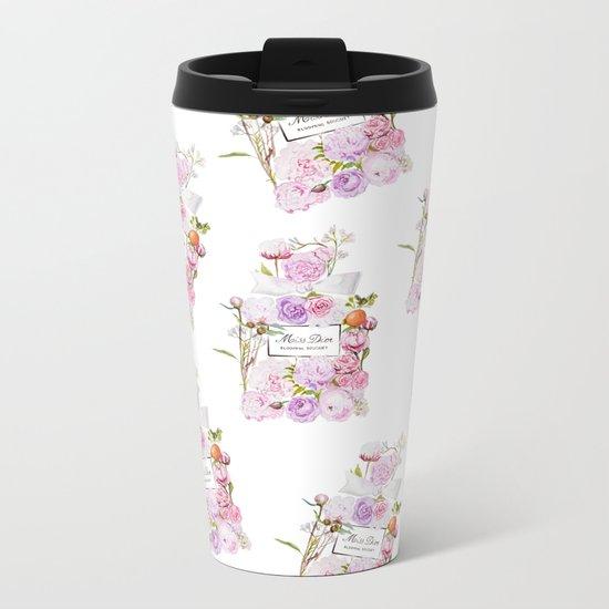 Parfum Blooming Bouquet Metal Travel Mug