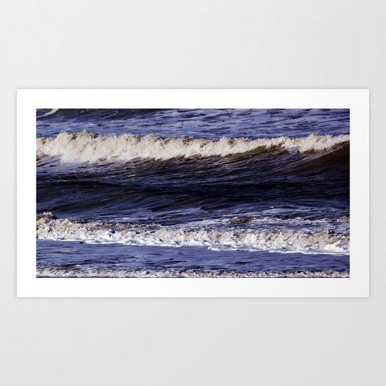 To the sea, to the sea... Art Print