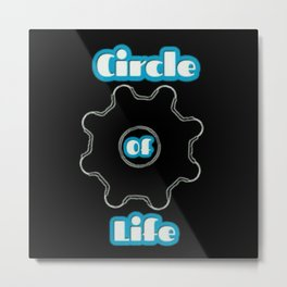 The Circle Of Life Metal Print