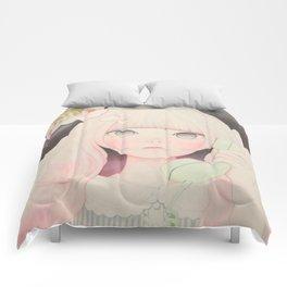 「Soy sauce Uchuuw」 Comforters