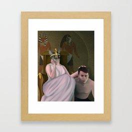 Cleocatra Framed Art Print