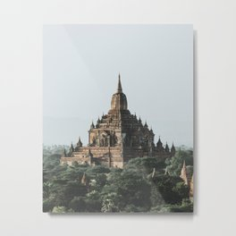 Bagan, Myanmar Metal Print