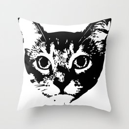 Cash Meow Side Throw Pillow
