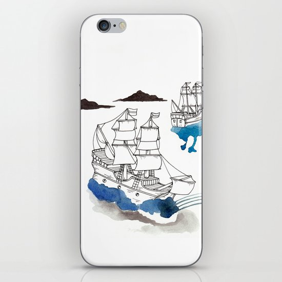 Two Lives iPhone & iPod Skin