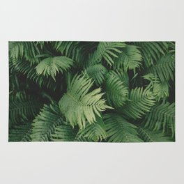 Reaching Ferns Rug