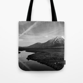 Black and White Nevada Tote Bag