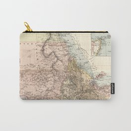 The Nile River Valley Map (1910) Carry-All Pouch