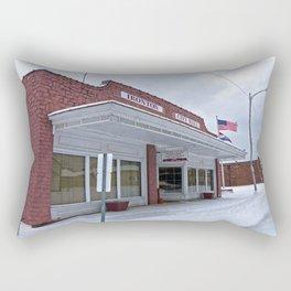 City Hall - Ironton, Missouri Rectangular Pillow