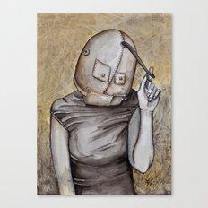 Coy conformity Canvas Print