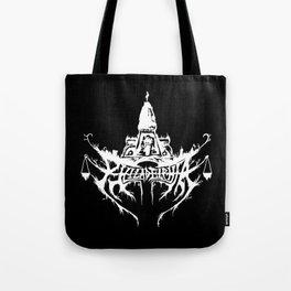Philadelphia Black Metal Logo Tote Bag