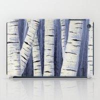 birch iPad Cases featuring Birch by Sarah Yee