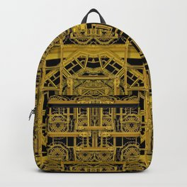 Beautiful stars would be in gold frames Backpack