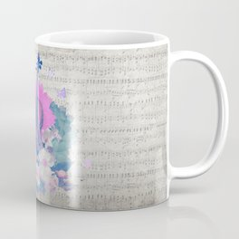 "VIOLIN by collection ""Music"" Coffee Mug"