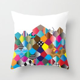 Pattern_2 Throw Pillow