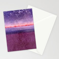 purple window Stationery Cards