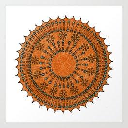 Vesicle Mandala 01 Art Print