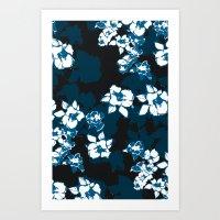 ohana Art Prints featuring ohana by ALLIE'S