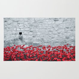 Tower Poppies 01B Rug