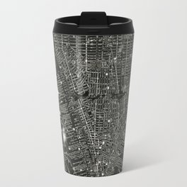 Vintage New Your City Map Travel Mug