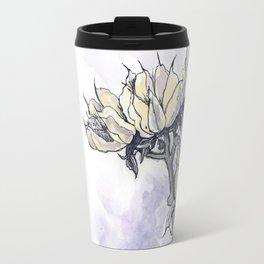 Dried Wild Flowers  Travel Mug
