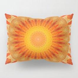 Mandala sunset Pillow Sham
