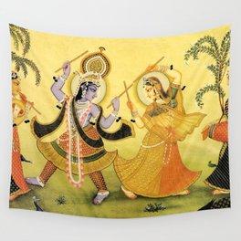 Krishna - Hindu Wall Tapestry