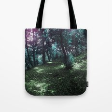 hometown forest Tote Bag