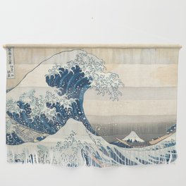 The Great Wave off Kanagawa by Katsushika Hokusai from the series Thirty-six Views of Mount Fuji Wall Hanging