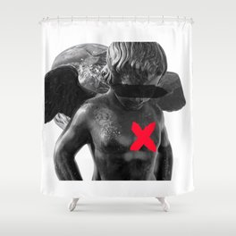 Carry your mistake Shower Curtain