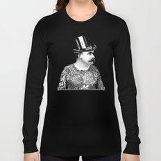 Tattooed Victorian Man Long Sleeve T-shirt